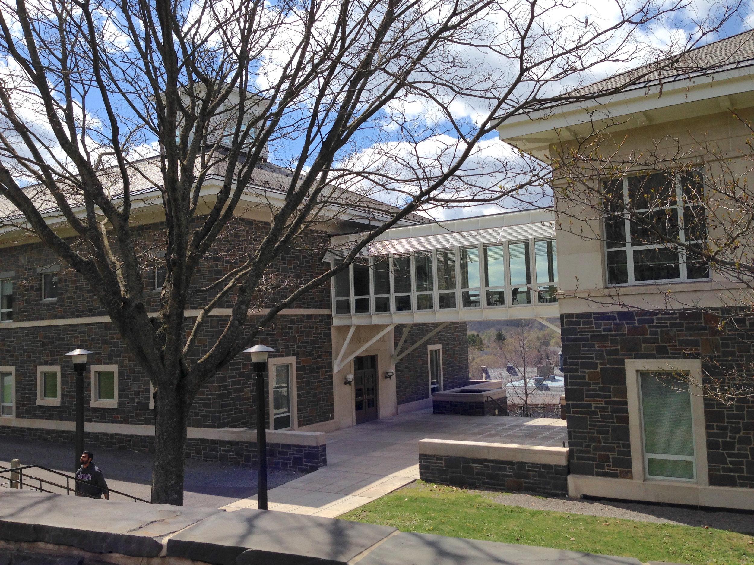 colgate university—pearson hall