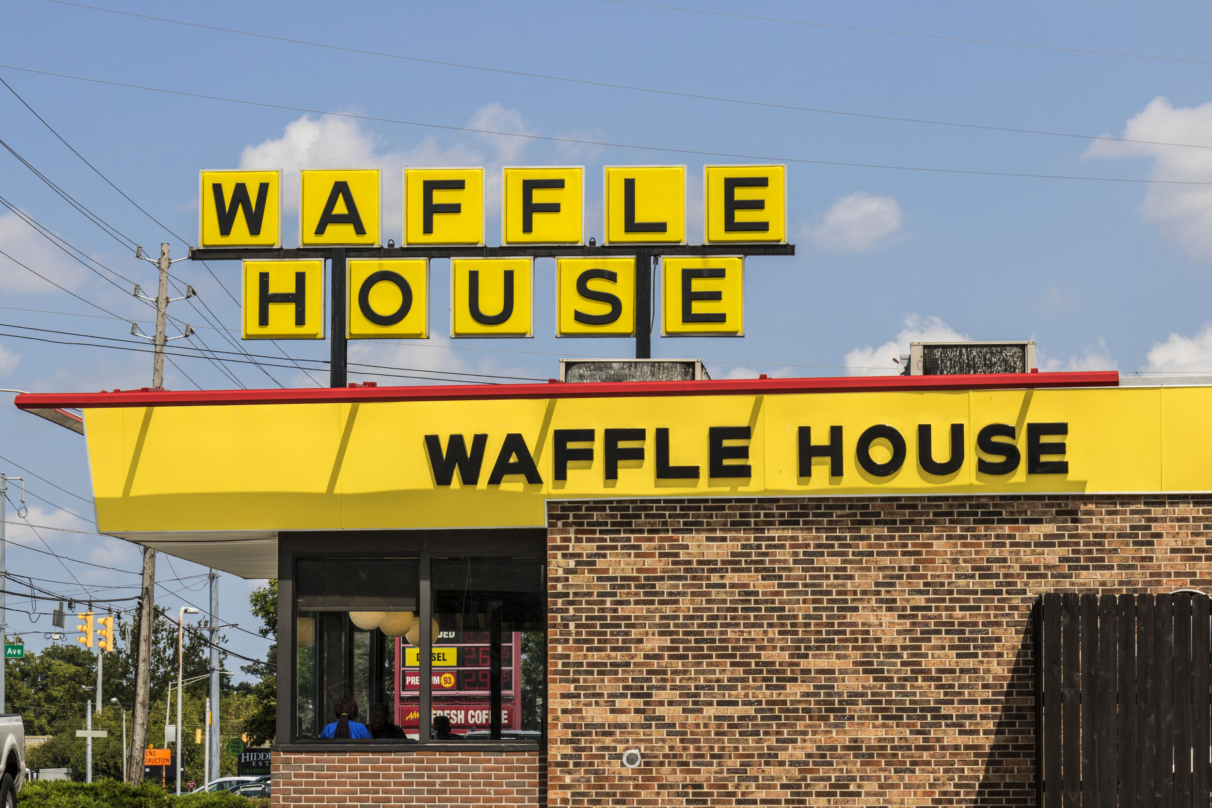 "15: Due to the restaurant's reputation for staying open in extreme weather, the so-called ""Waffle House Index"" is informally used by FEMA to gauge storm severity.   https://www.youtube.com/watch?v=hMPRLxNRS4I"