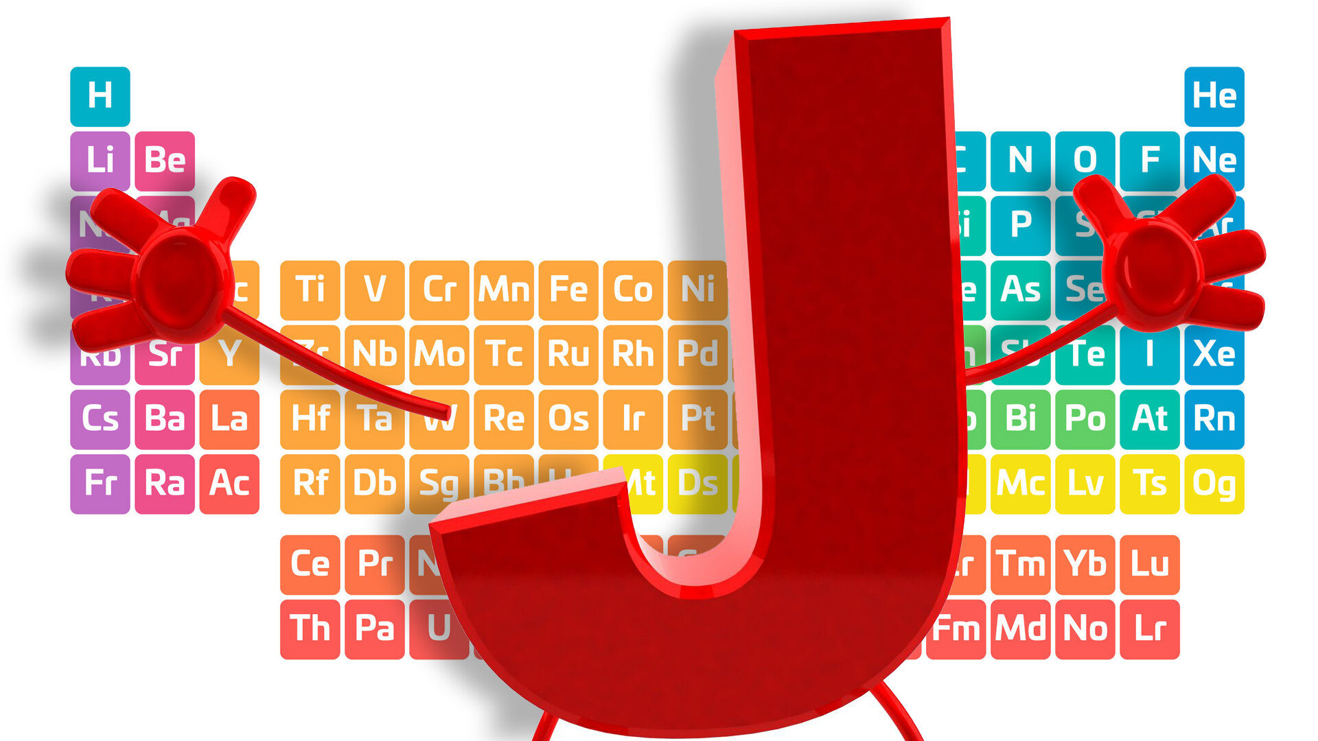 68: The only letter missing from the periodic table is J.  https://www.youtube.com/watch?v=rz4Dd1I_fX0