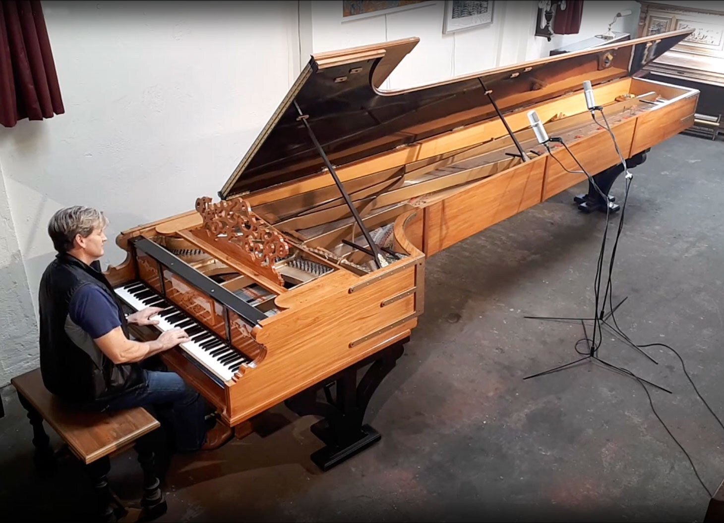 80: The world's largest piano was built by a 15 year old in New Zealand. It took him 2 years.  https://www.youtube.com/watch?v=x57kcRdojrY