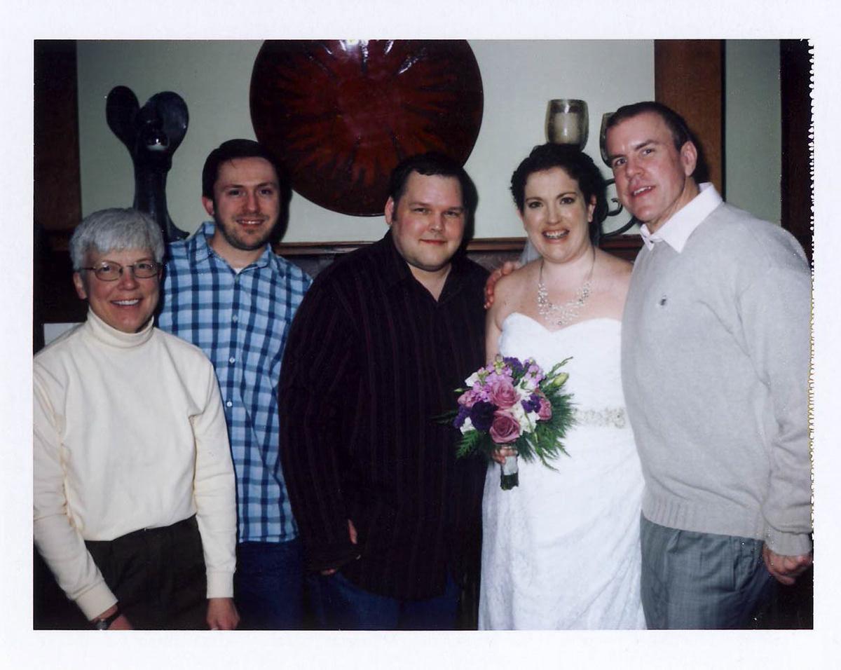 Our Polaroid Wedding