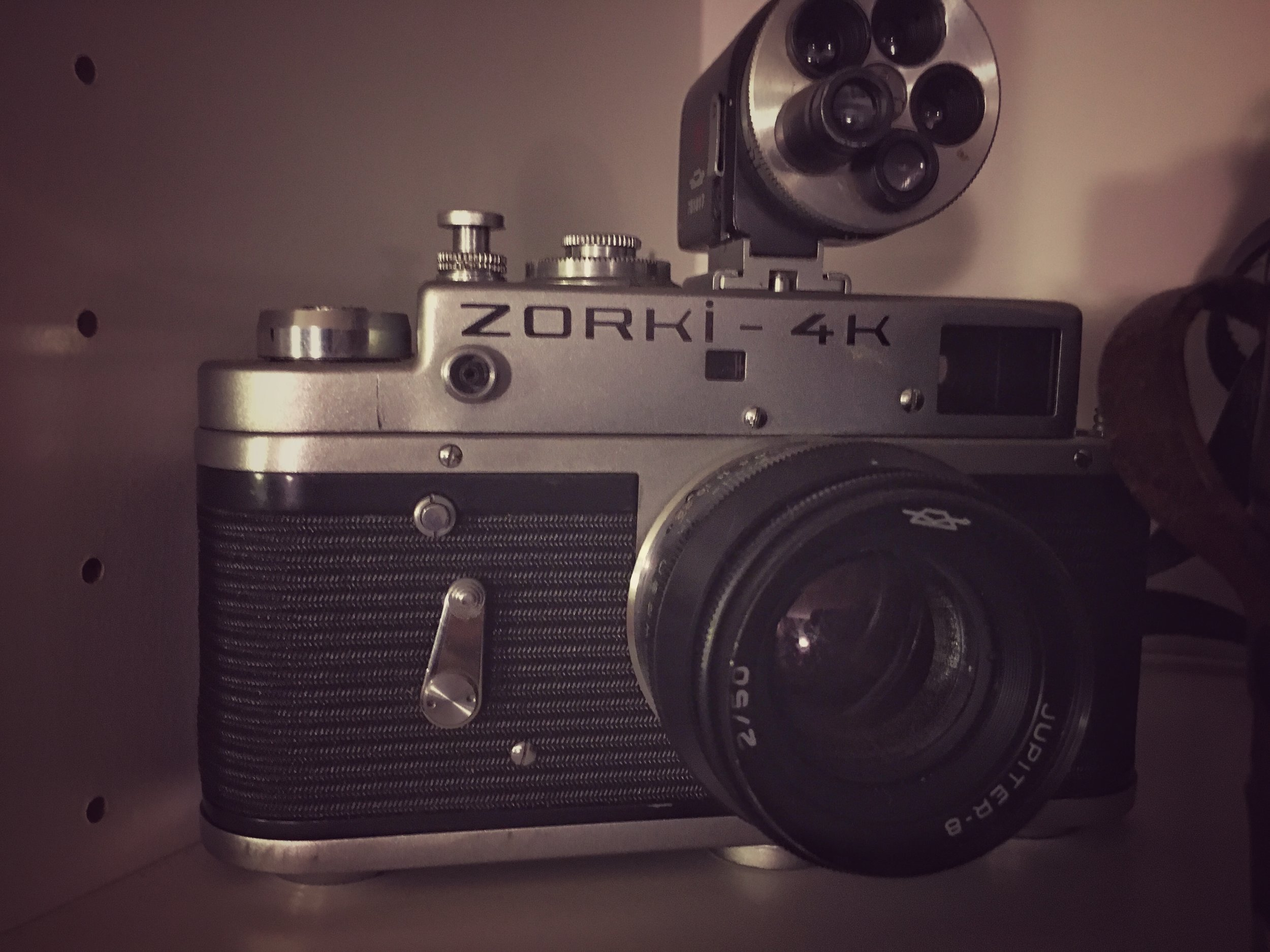 Zorki 4k, the first well designed, popular of the Soviet FED-Zorki line.