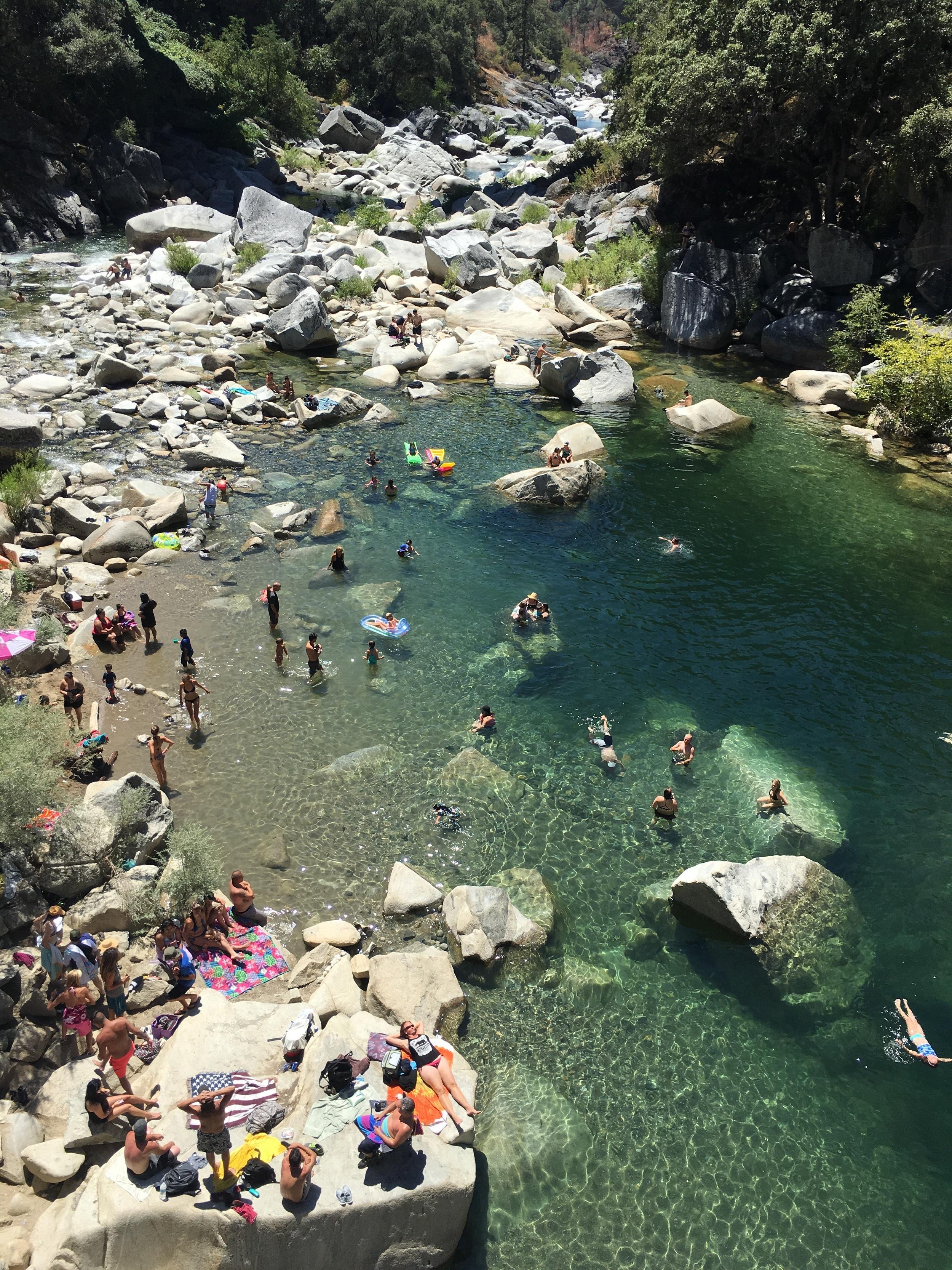 Yuba swimming hole