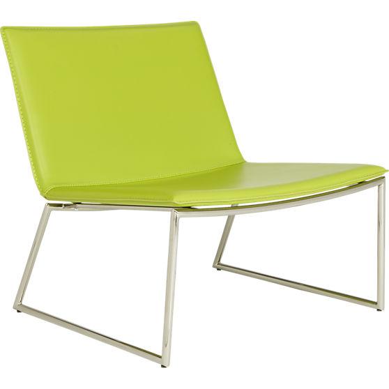 Triumph Green Lounge Chair