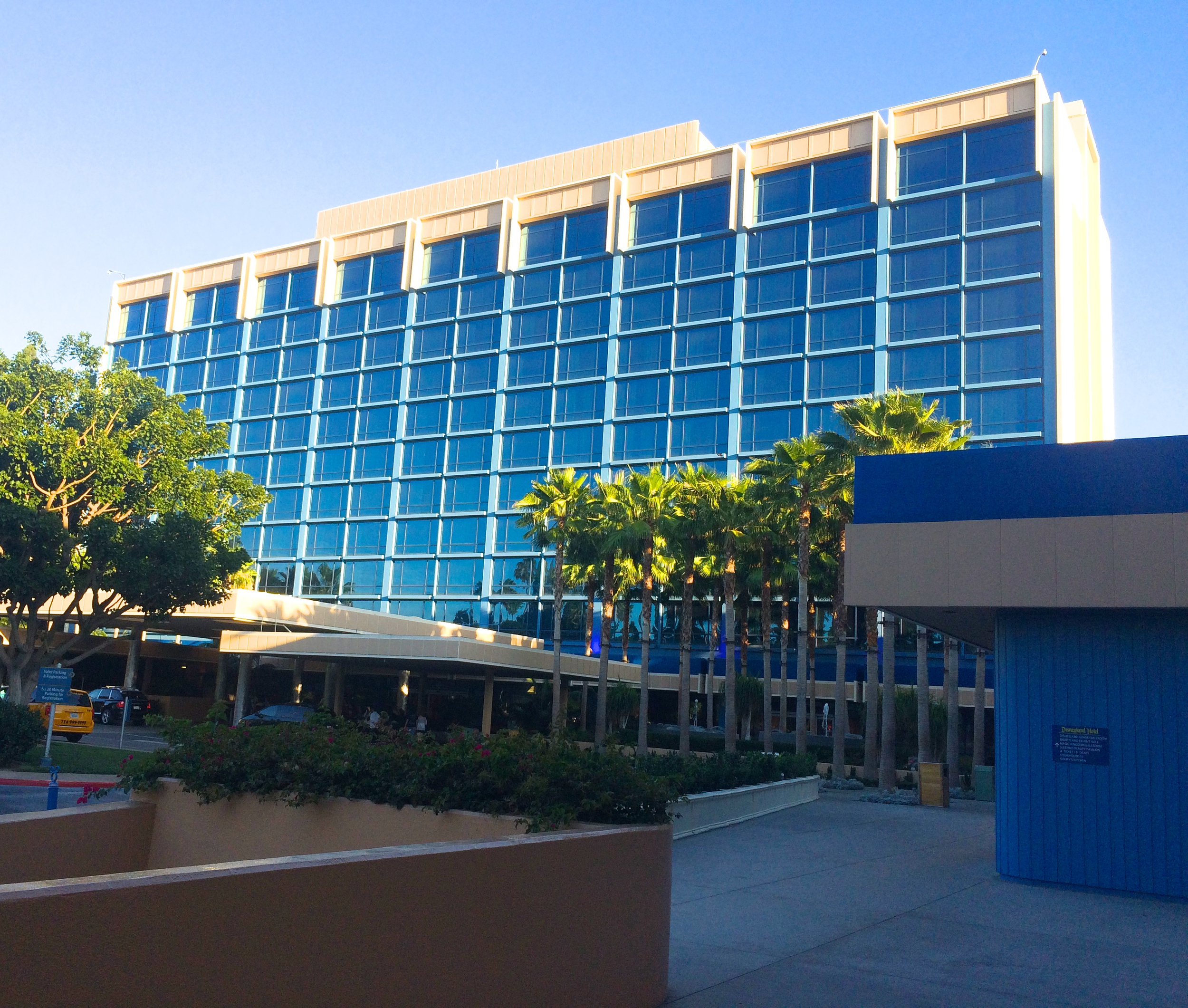 Ahh, the Disneyland Hotel (and on a work night no less!)