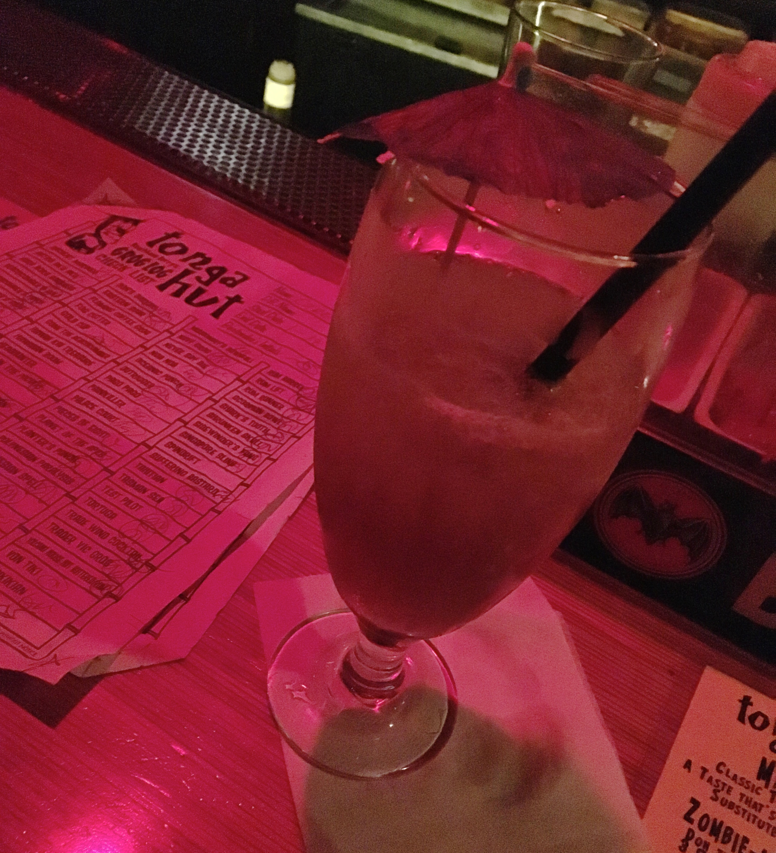 """waikikian  """"strong with lots of rum, not too sweet"""""""
