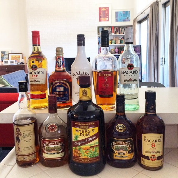 Just Some of the Types of Rum Out There