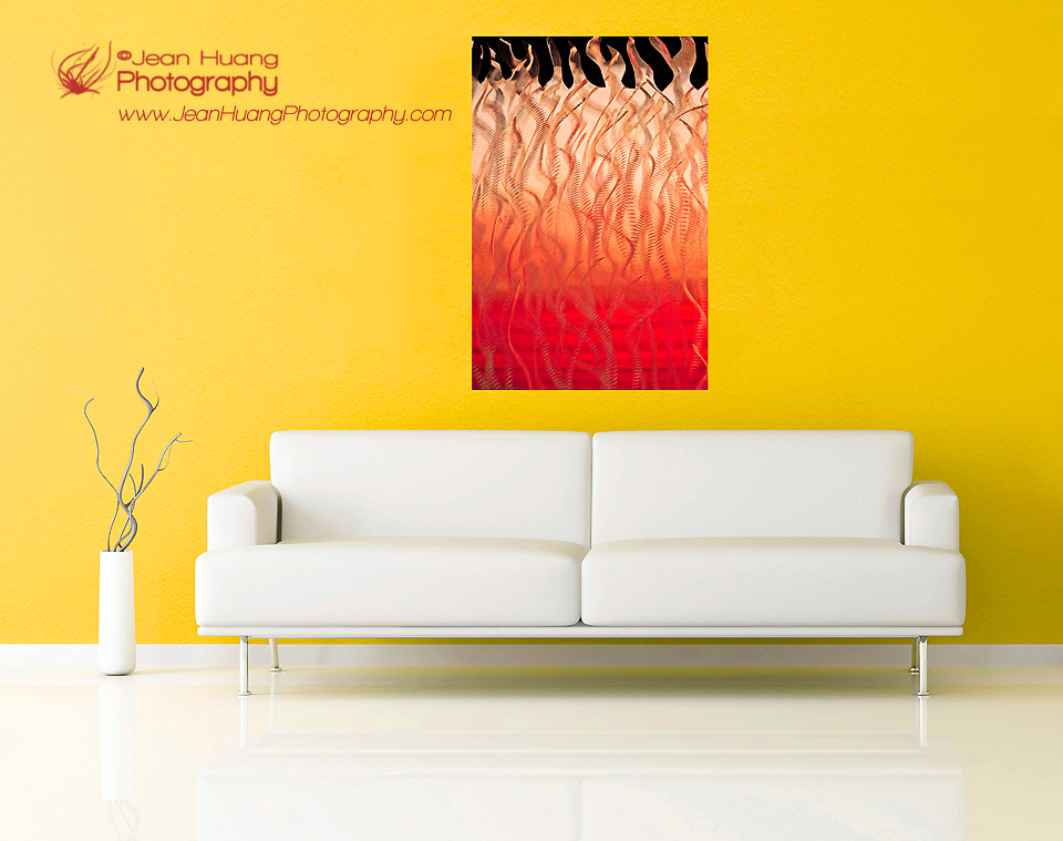 Rising above the Fire - Wall Art ©Jean Huang