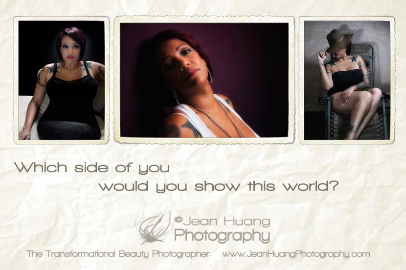 Transformational Beauty Photography - ©Jean Huang Photography