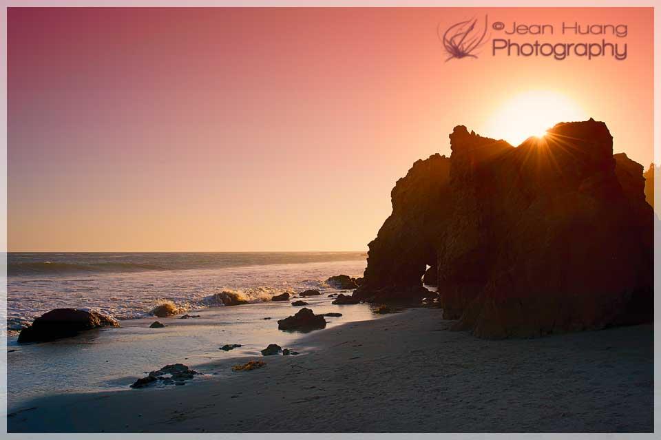 Sunset at El Metador Beach - ©Jean Huang Photography