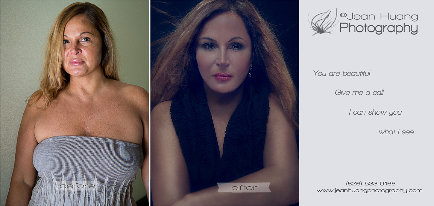 Before-and-After-a-Woman-is-Transformed-in-Transformational-Beauty-Photography-©Jean-Huang-Photography