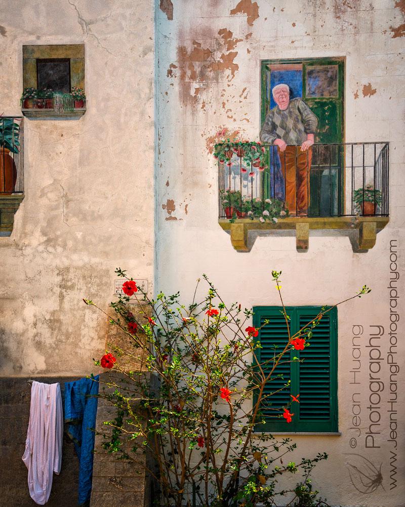 Lipari-Court-Yard-Italy-Copyright-Jean-Huang-Photography