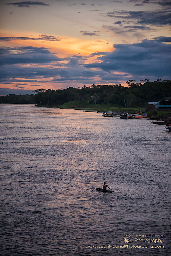 Sunset-Nauta-Amazon-Peru-Copyright-Jean-Huang-Photography