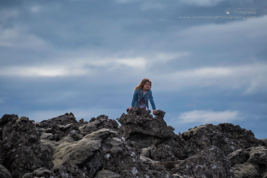 Girl-Trapped-in-Lava-Field-Blue-Lagoon-Iceland-Copyright-Jean-Huang-Photography