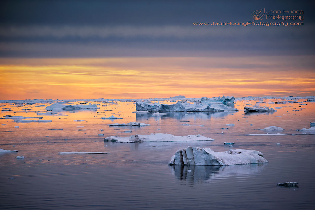 Beautiful Arctic Light -  ©Jean Huang Photography