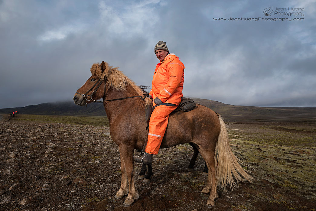 Sheep-Farmer-on-Horse-Back-En-route-to-Kerlingarfjoll-Iceland-Copyright-Jean-Huang-Photography