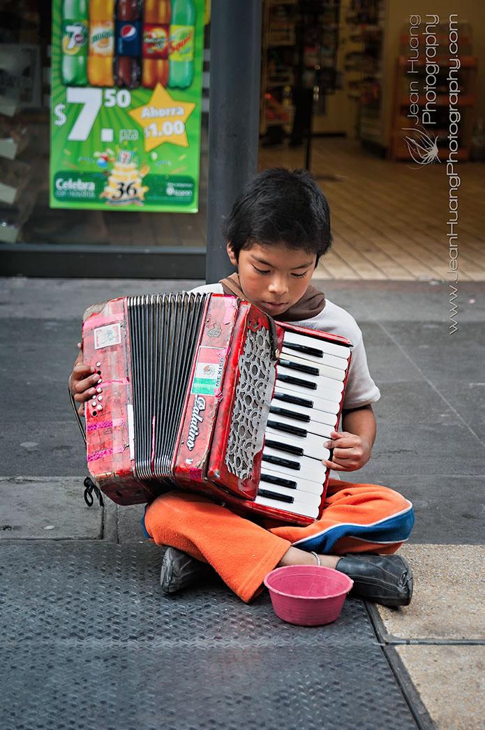 Accordion-Boy-Mexico-City-Mexico-Copyright-Jean-Huang-Photography