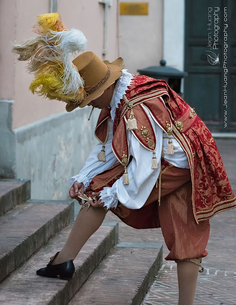 Tidying-Up-Before-the-Historical-Parade-Foligno-Italy-Copyright-Jean-Huang-Photography