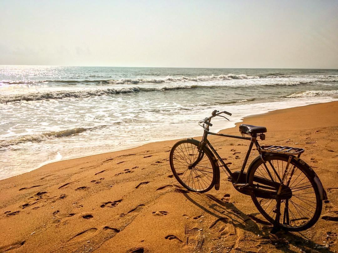 Crap. Worst dead end ever :)— at  Auroville Beach .