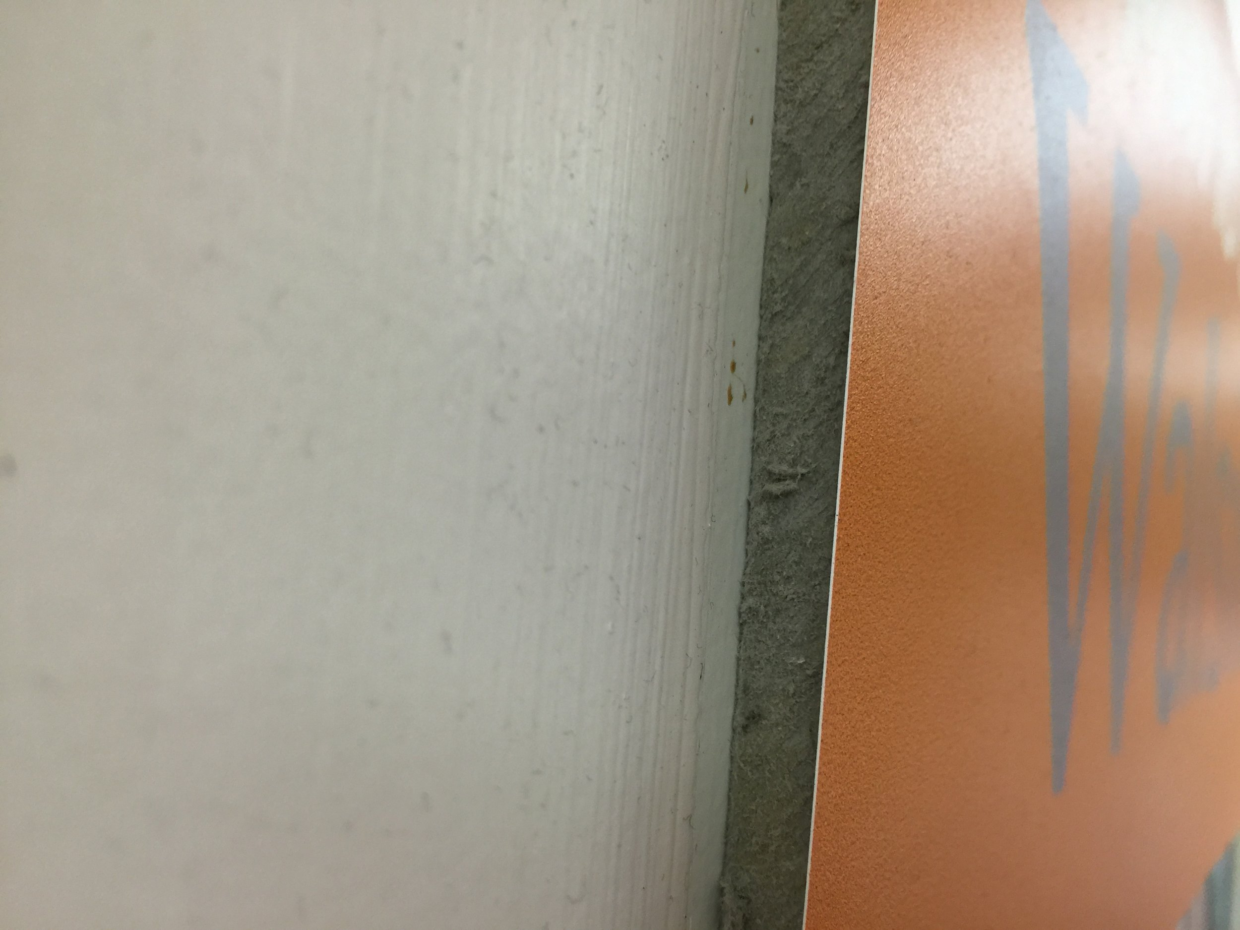 This is UPVC - thin and stuck onto a display board with double sided tape.JPG