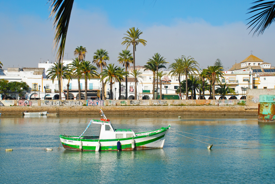 The port of El Puerto de Santa Maria