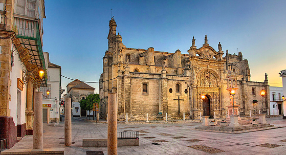 The stuNning church of el puerto de santa maria