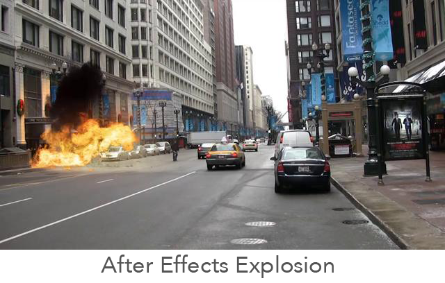 After Effects Explosion