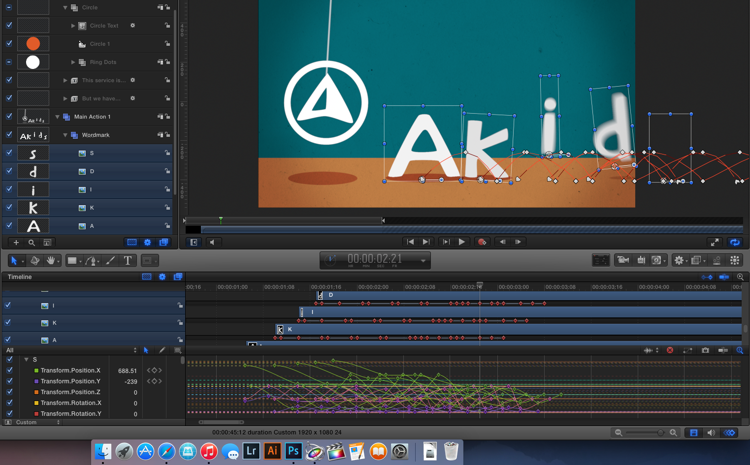 Animating the AKids Scene