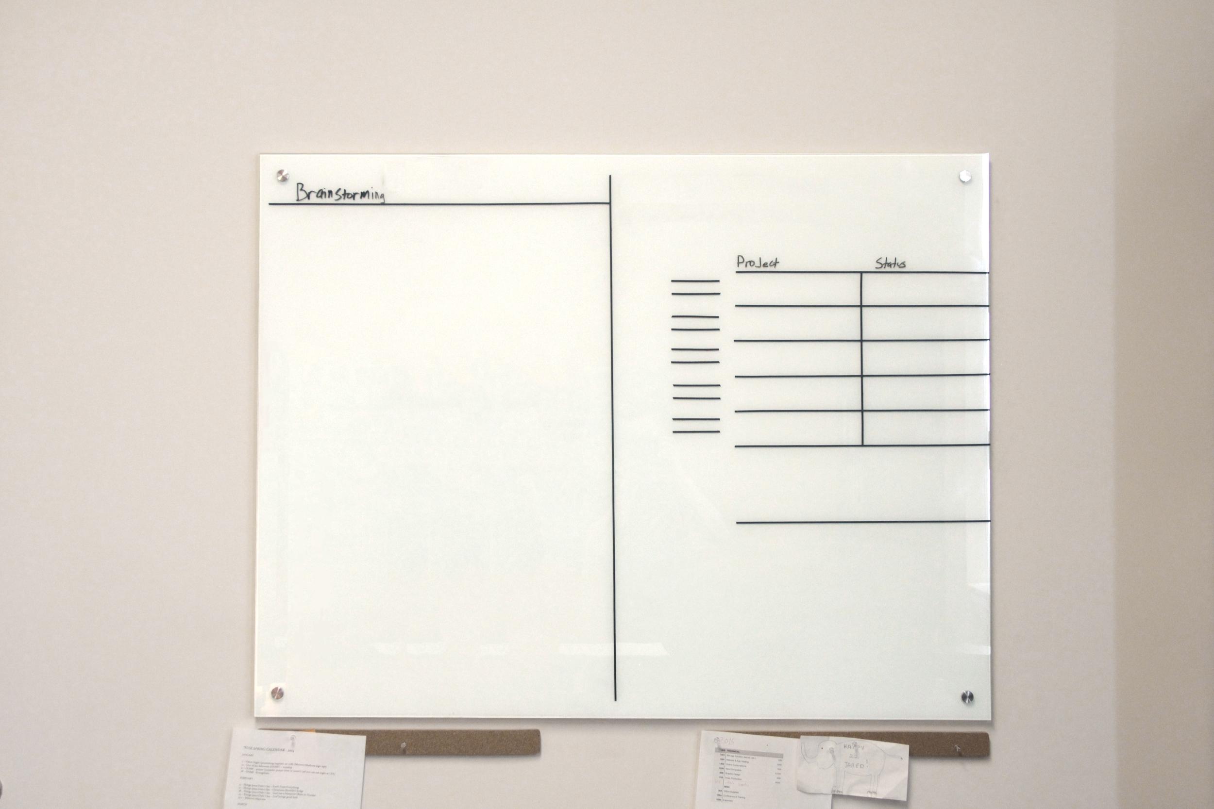 Whiteboard Layout