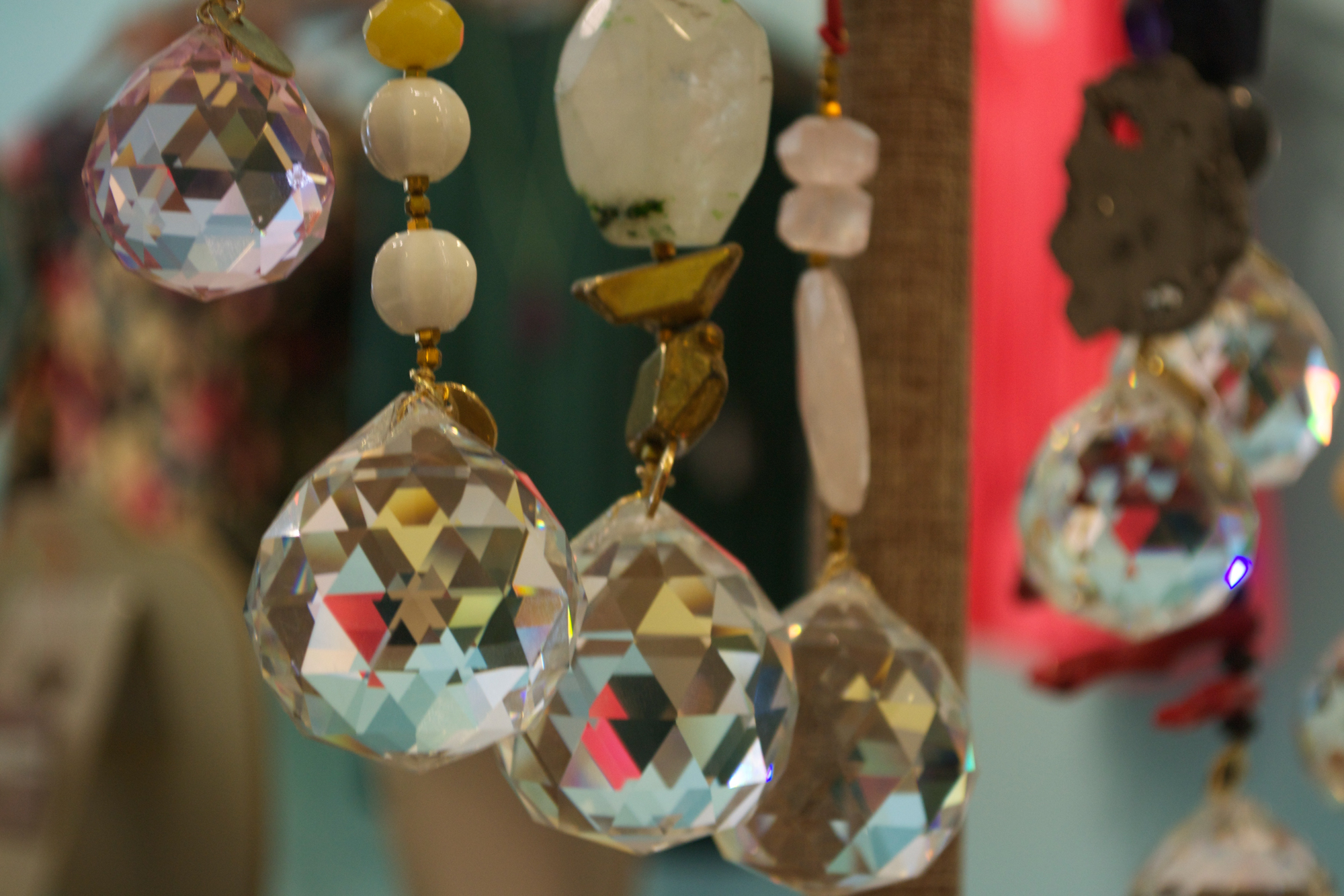 These are Feng shui beads, designed to add harmony to your existence