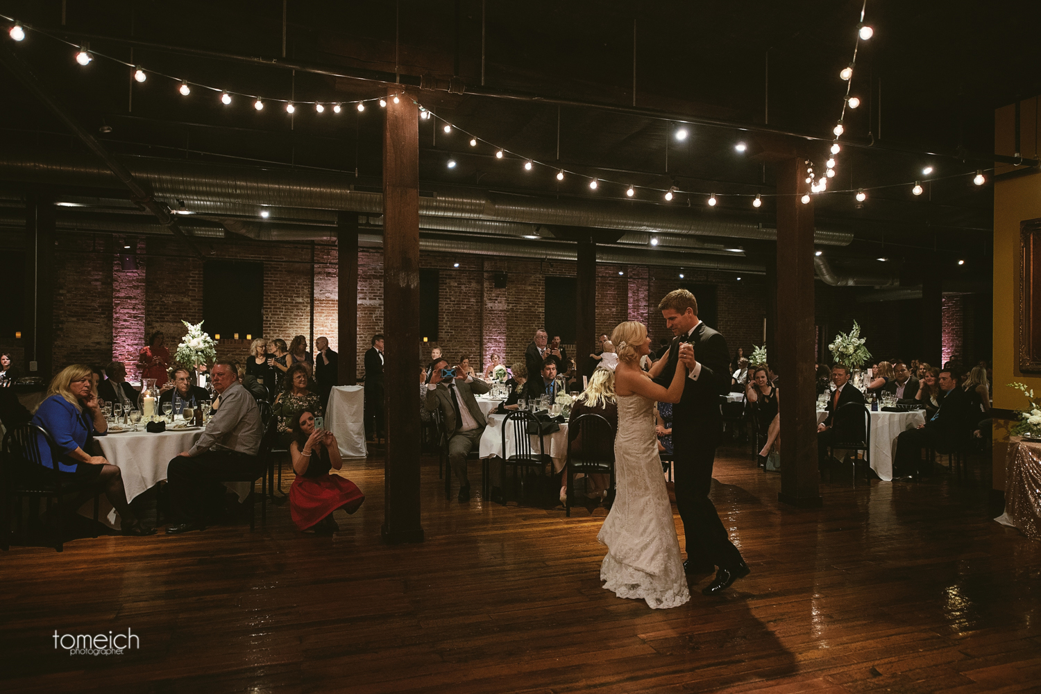 first dance of the couple