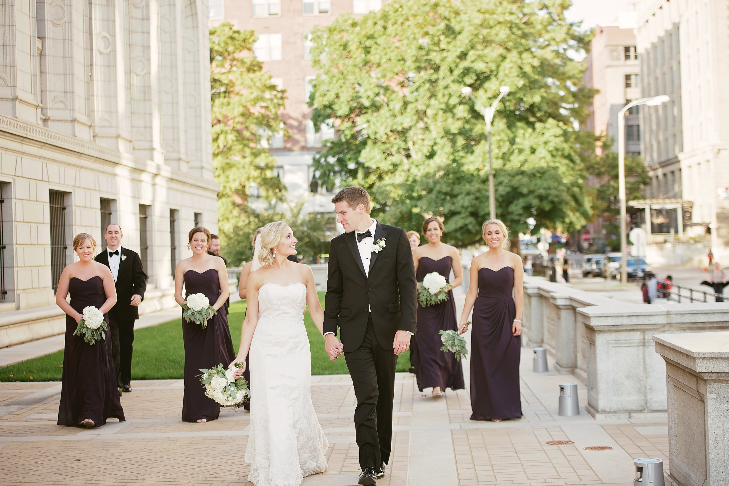 st. louis library wedding photography