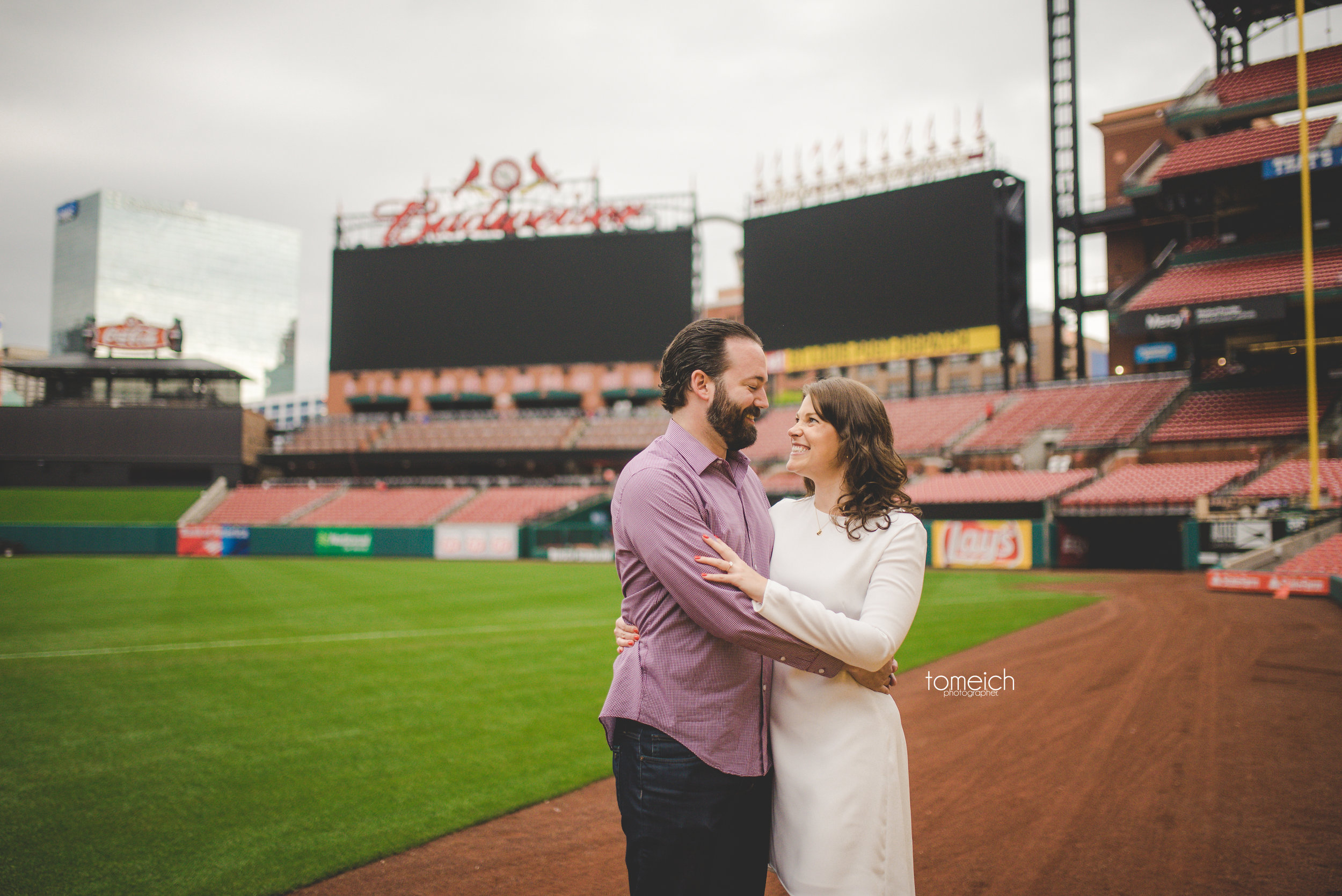 saint louis busch stadium engagement