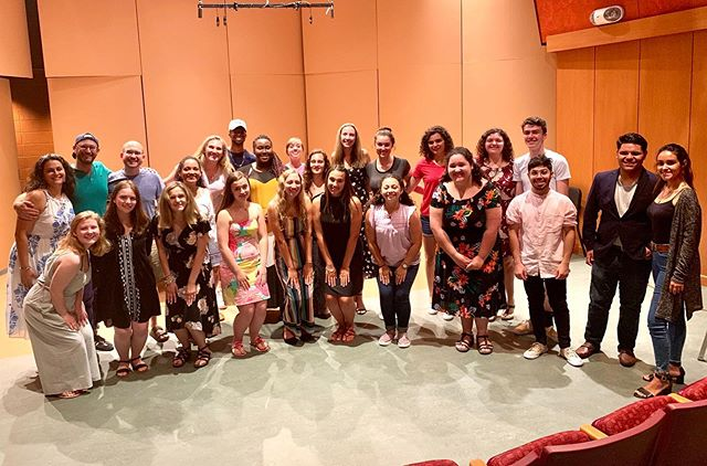 Great first day @vocalauditionadvantage! These talented and energetic young singers are bringing it! #vaa2019 #vocalauditionadvantage #piano #pianist #musicdirector