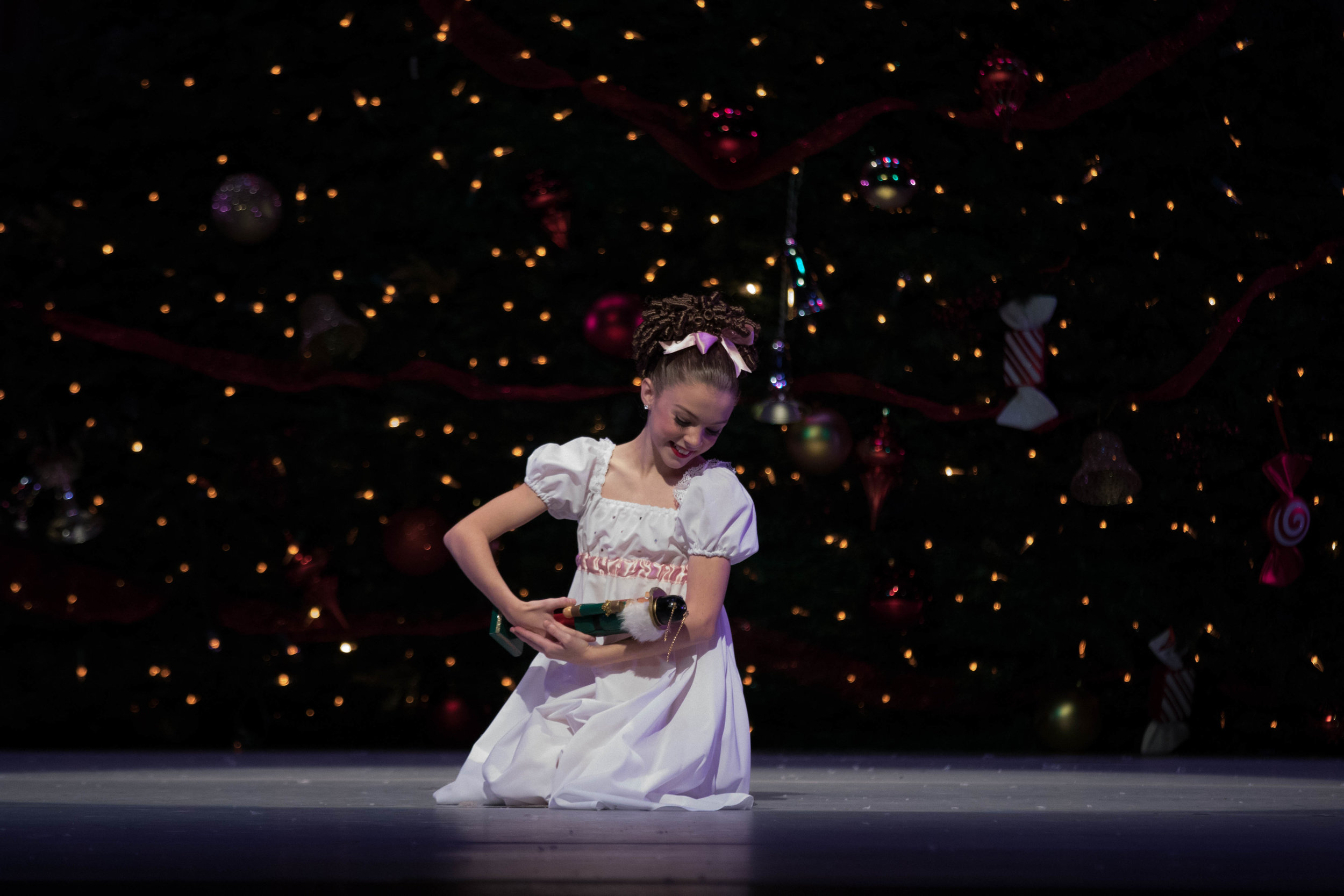 Ms. Ella Naylor as Clara, Nutcracker 2016