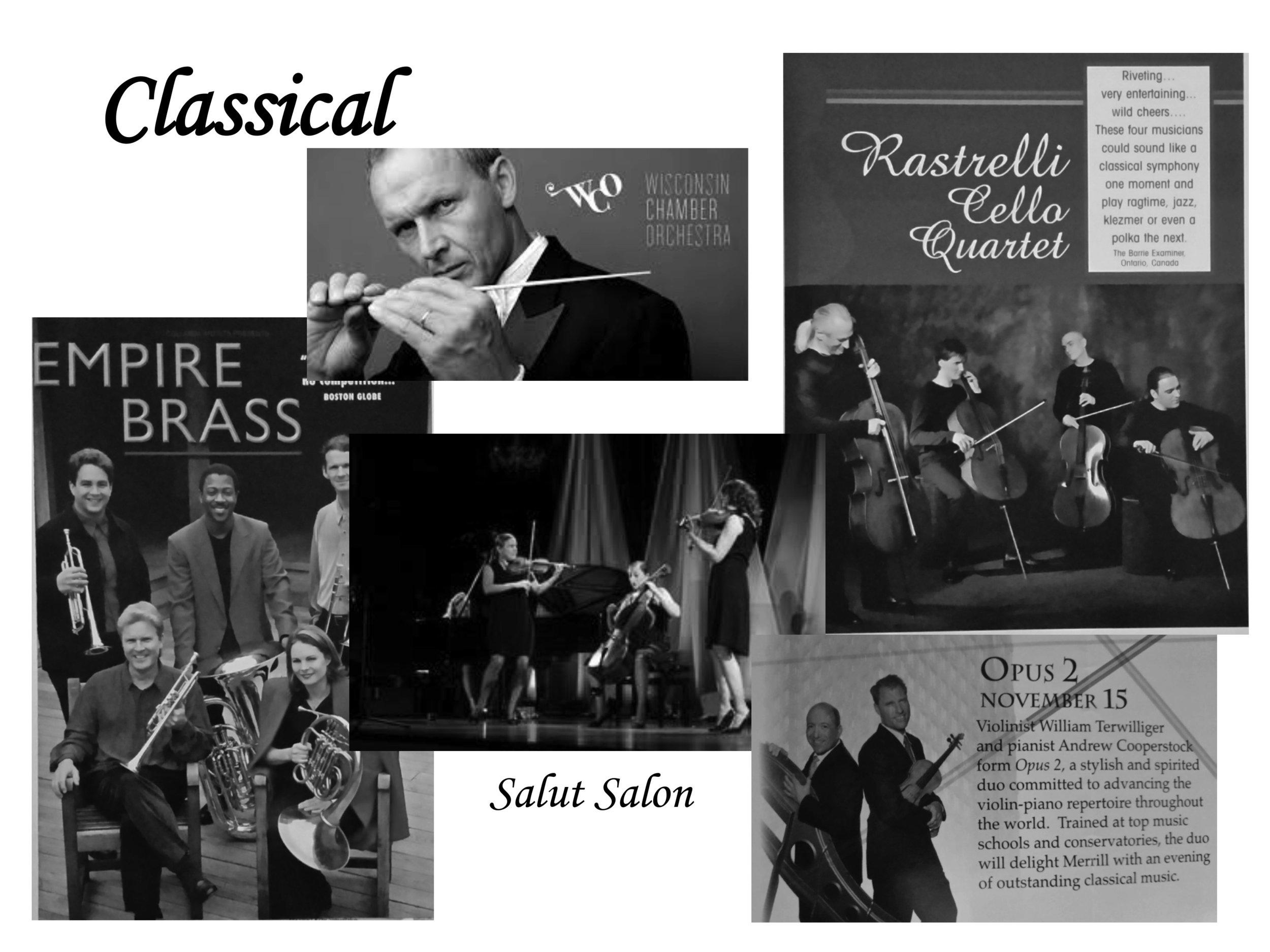 50 Years of MACA — Merrill Area Concert Association