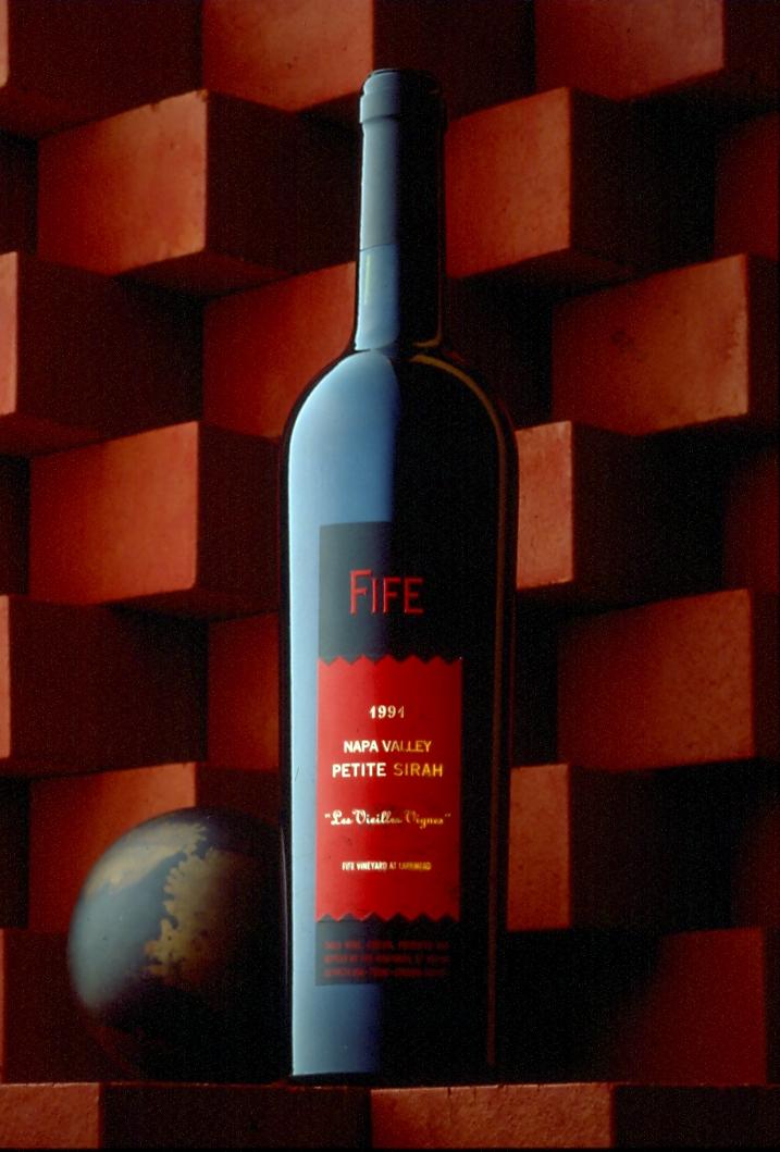 Fife Vineyards Wine Package Design