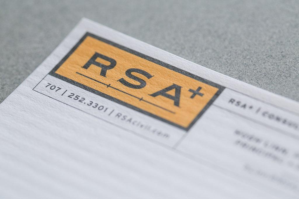 RSA+ | Logo + rebrand