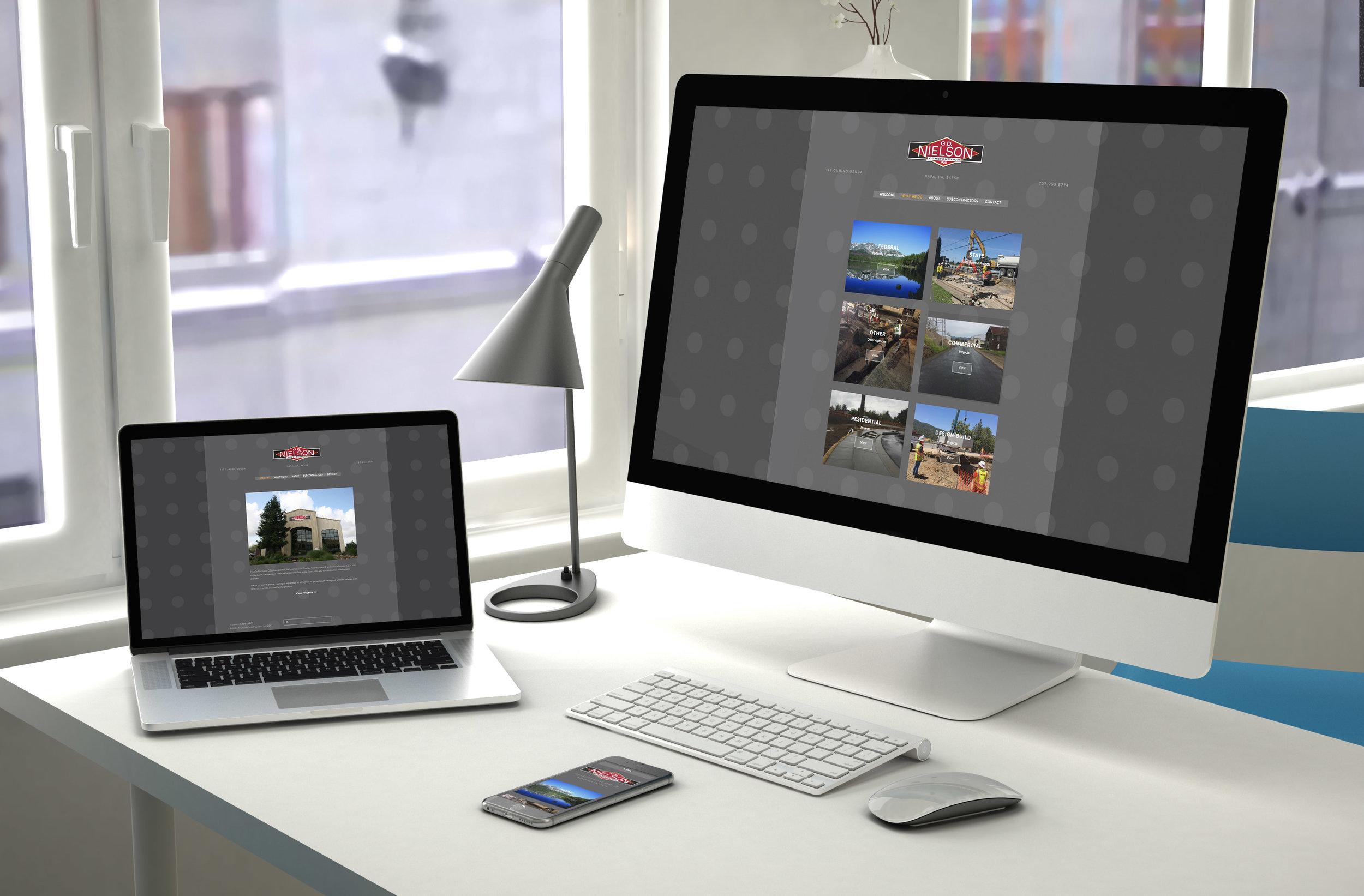 Website Styling & Design   GD Nielson