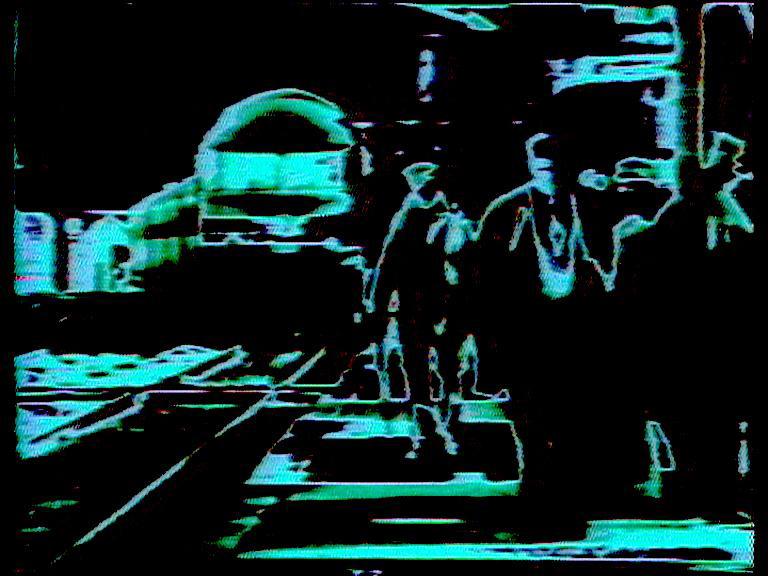 Robert Cahen, L'invitation au voyage, 1973, vidéo couleur /sonore, 9mn
