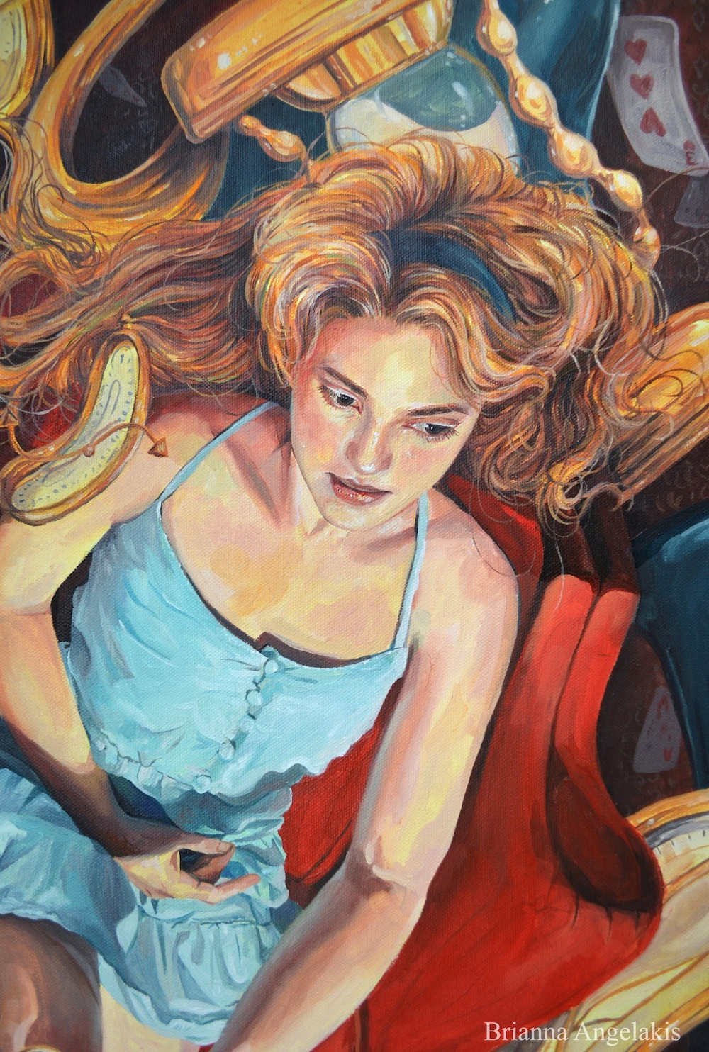 Alice Lost in Time (detail)