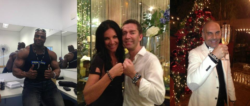 1. Toney Freeman (Member IFBB). 2. Aswell with Natasha Romanov. 3. Christian Audiger (Designer).