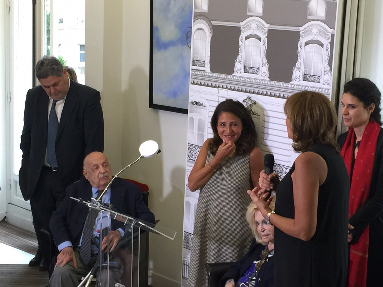 Discours de Sabrina Allouche, responsable du voyage des descandants de Justes pour la Fondation France Israel  en hommage à M.Paul Schaffer