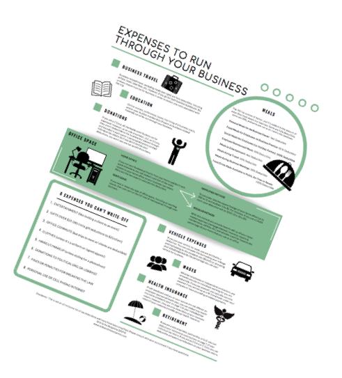 Small Business Tax Cheat Sheet
