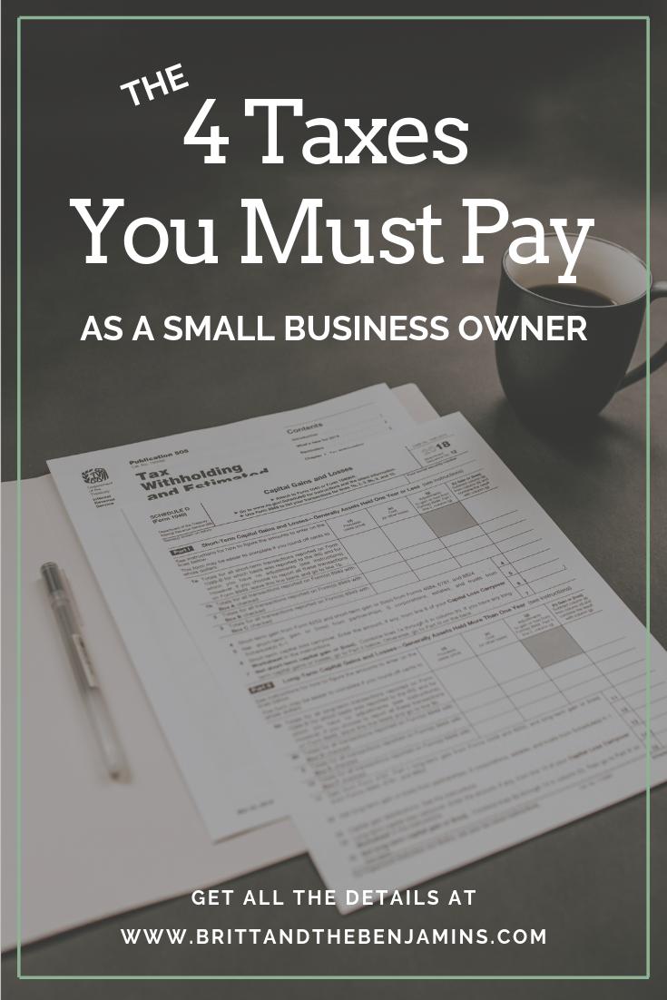 entrepreneur taxes