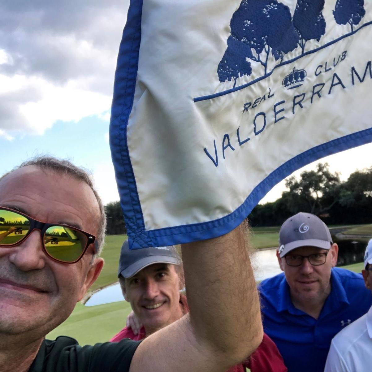 Mr. Buzzy @ Valderrama Golf club, spain