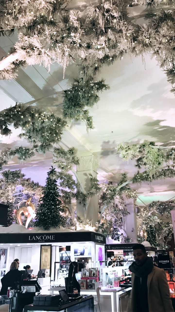 Breathtaking decorations at Sak's Fifth Ave