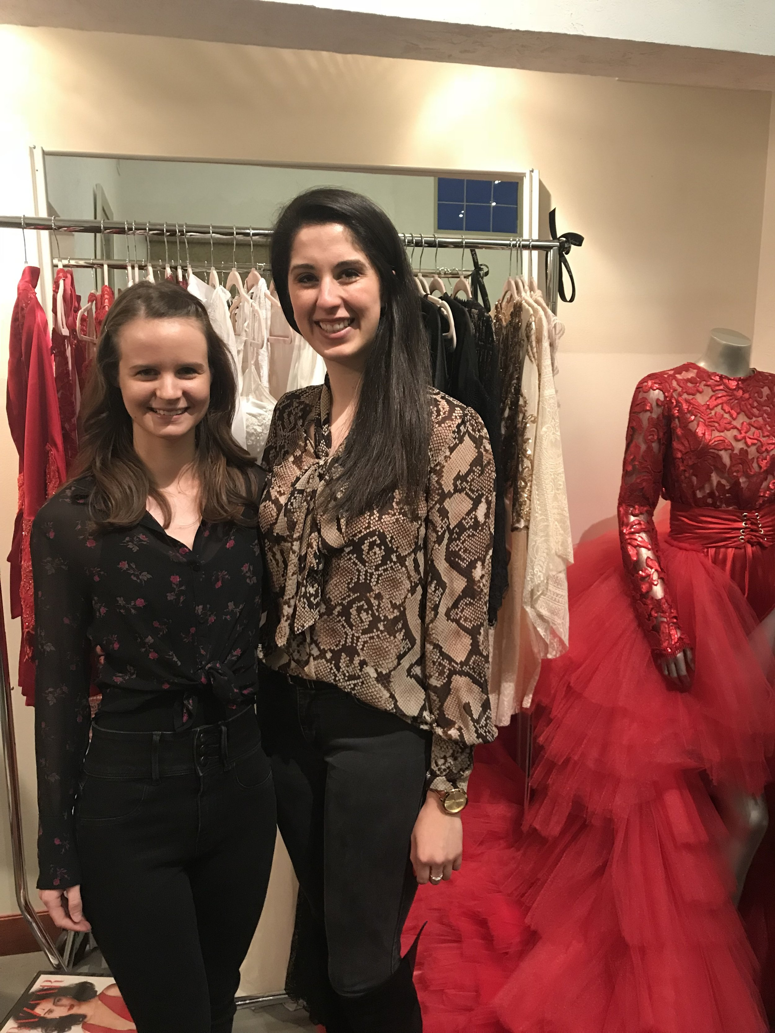 After the Fashion and Friends event at Zing Boutique in Port Washington, WI.