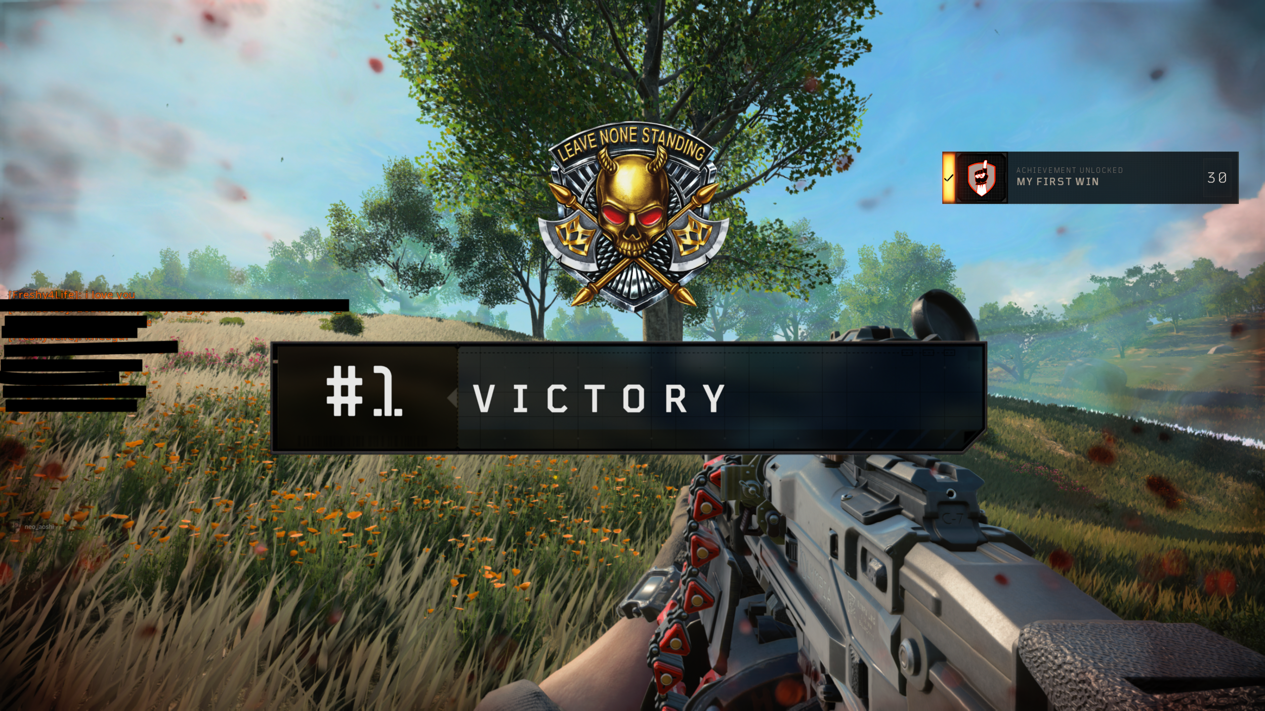 My first #1 Victory!