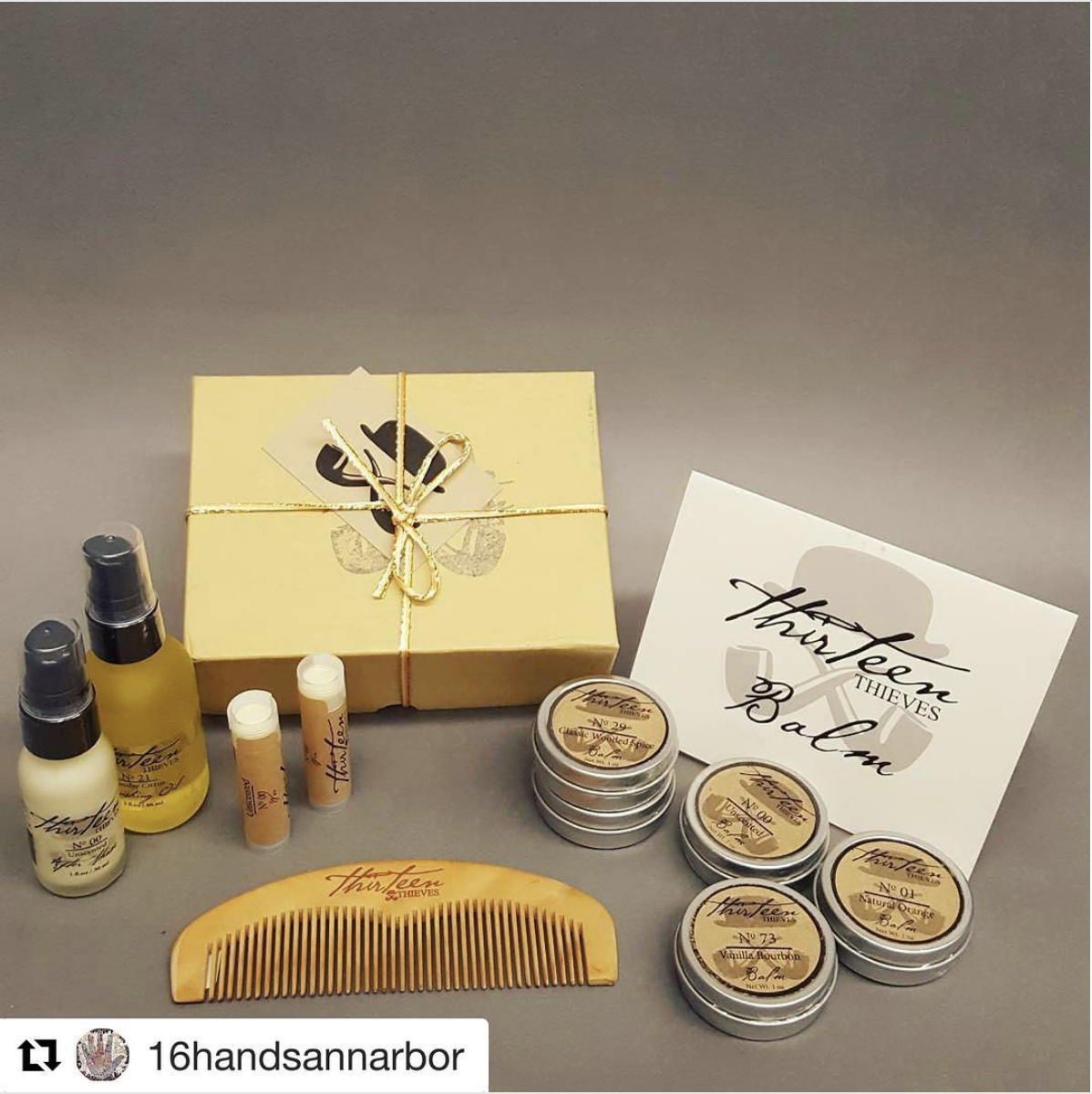 We have brand new men's personal care products and gift sets! These organic handmade oils and balms are perfect for the bearded gentleman in your life. Just in time for Father's Day! Stop by and see us in our vibrant location in historic Kerrytown.